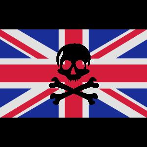 Skull And Bones Union Jack; Union Jack
