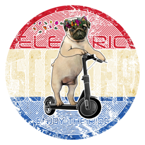 Electricscooter Süsser Mops Holland