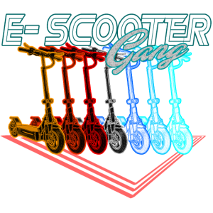 Elektroroller Escooter Gang