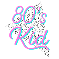 80s Kid Memphis Pattern Neon Colors