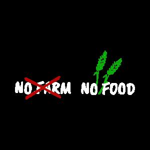 No farm, no food