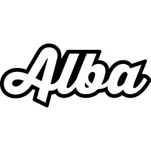Alba, tekstilogo