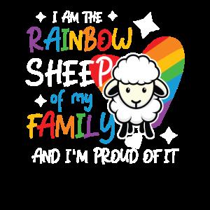 Ich bin das bunte Schaf der Familie