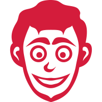 Cartoon Charakter Kopf 23023