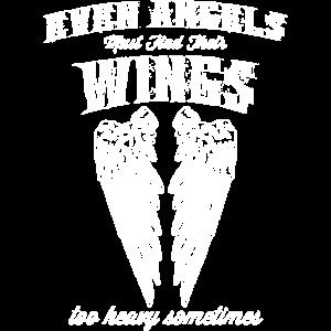 Even angels must hide their wings