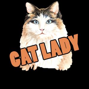 Frauchen Katzenfrau Katzenliebhaberin
