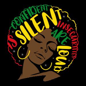 Black Afro Girl Women Empowerment