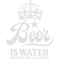 Beer is water