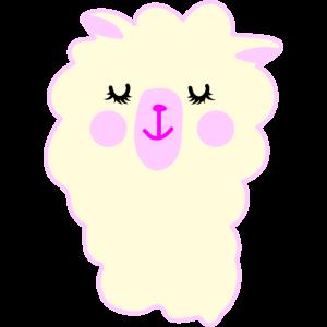 Niedliches Lama
