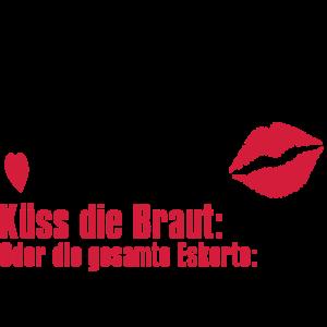 Junggesellinnenabschied Küssen