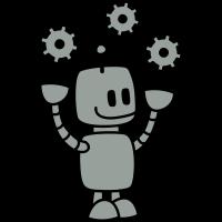 Happy Robot (2c)