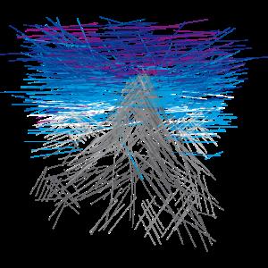 Berg - abstrakt