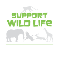 Cute Support Wild Life for Wild Animal Lovers