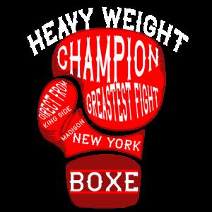 HEAVYWEIGHT CHAMPION Boxen Geschenk