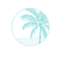 Nassau Bahamas Vintage Printed Sunset design