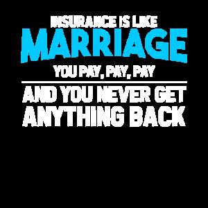 Insurance is like Marriage...