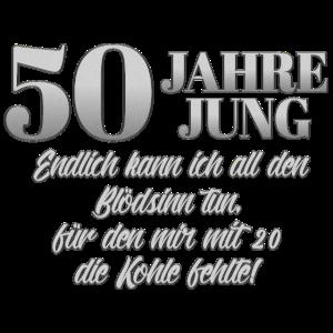 50 Jahre Jung Geburtstagsspruch 50