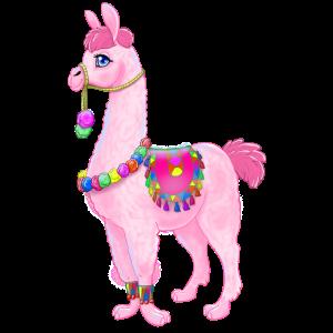 Pink Alpaka (Version 2)