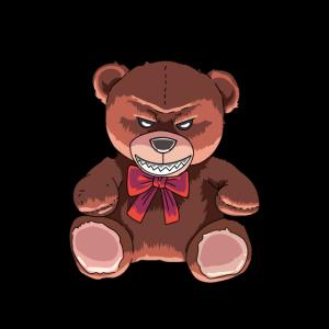 horror teddybär zombie halloween gruselig