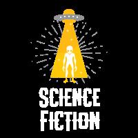Cooler Science Fiction-Alien für Science Nerds