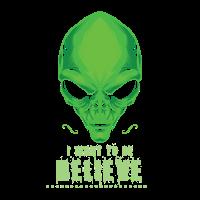 Cool, ich möchte Alien für Science Nerds glauben