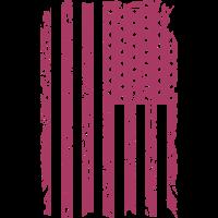 USA  Flag - Vintage Look