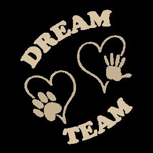 Dream team Hand Pfote
