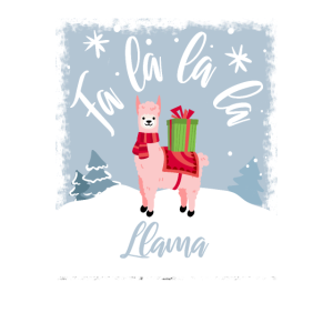 Fa La La Llama Funny Christmas Sayings Holidays