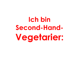 Second-Hand-Vegetarier