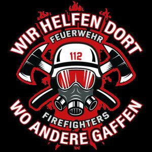Feuerwehr Feuerwehrmann Helfen gaffen Geschenk