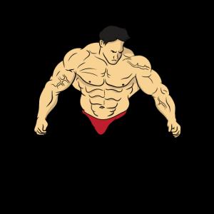 Sport Fitness Bodybuilder Kraftsport Gym Geschenk