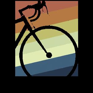 Retro Vintage Cyclist Shirt Fahrrad Rad T-Shirt