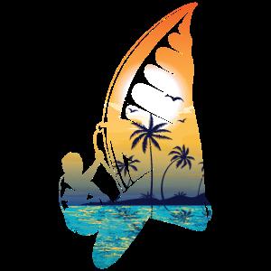 Windsurfen Windsurfing Surfen Surfing Geschenk