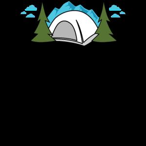 Girls Night Out Zelt Camping Design für Frauen,