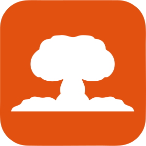 explosion nucleaire atomique icone 1