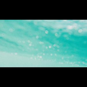 Luftblasen im Meer
