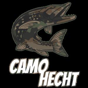 Hecht Petri Heil Angeln Angler Spruch Fischen