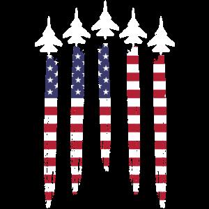 Amerikanisches Flugzeug
