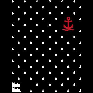 Maritimer Anker - Meer - Sommer - Moin Moin -Shirt