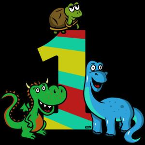 Dinosaurier Dino Drache 1 Geburtstag HARIZ Kind Ba