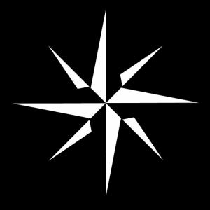 Kompass Windrose Geschenk Reise Tour