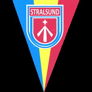 STRALSUND Wimpel | vintage Geschenkidee DDR Ostsee
