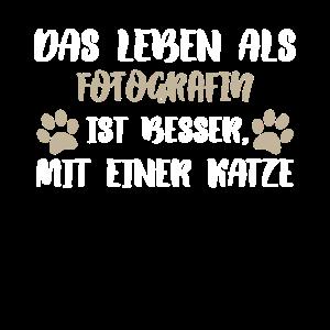 Fotografin Katze