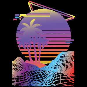 Vaporwave Gift design for Retro 80s Game Lovers
