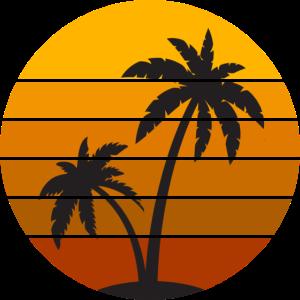 Sommer Sonne Palmen