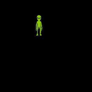 Ich wurde von Aliens entführt - lausige T-Shirt