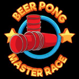 Bierpong Master Race Feiern Party Bier Saufen