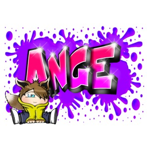 Graffiti Ange Pink printable