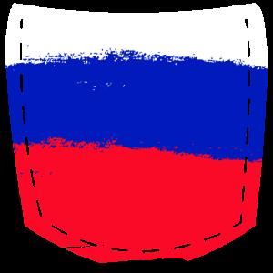 Russland Pocket Tasche Geschenk