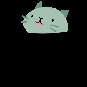 Katze in der Tasche Pocket Geschenk